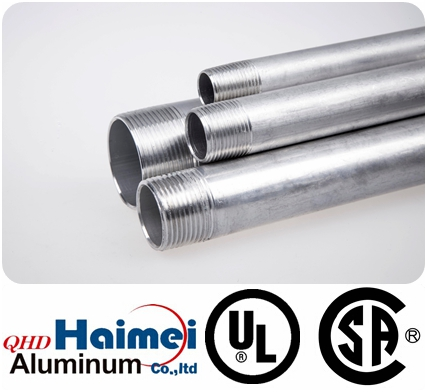 "3"" UL Approved Rigid Aluminum Conduits"