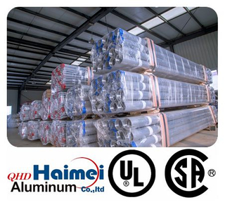 "3-1/2"" UL Approved Rigid Aluminum Conduit"