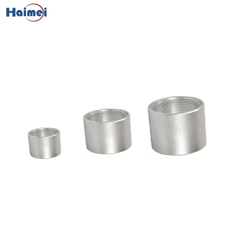 5 Inch Aluminum Threaded Tube Coupling - Buy aluminium pipe