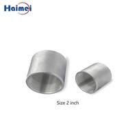 2 Inch Threaded Aluminum Pipe Couling