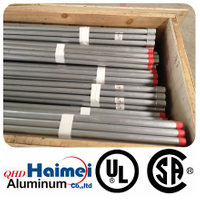 UL approved aluminum conduit pipe aluminium profile