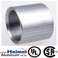 aluminum threaded pipe fittings of rigid coupling